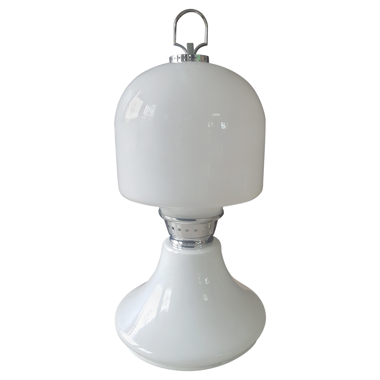 Midcentury Floor Table Lamp Carlo Nason for Mazzega, Italy, 1960s