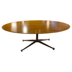Mid-Century Florence Knoll Oval Table