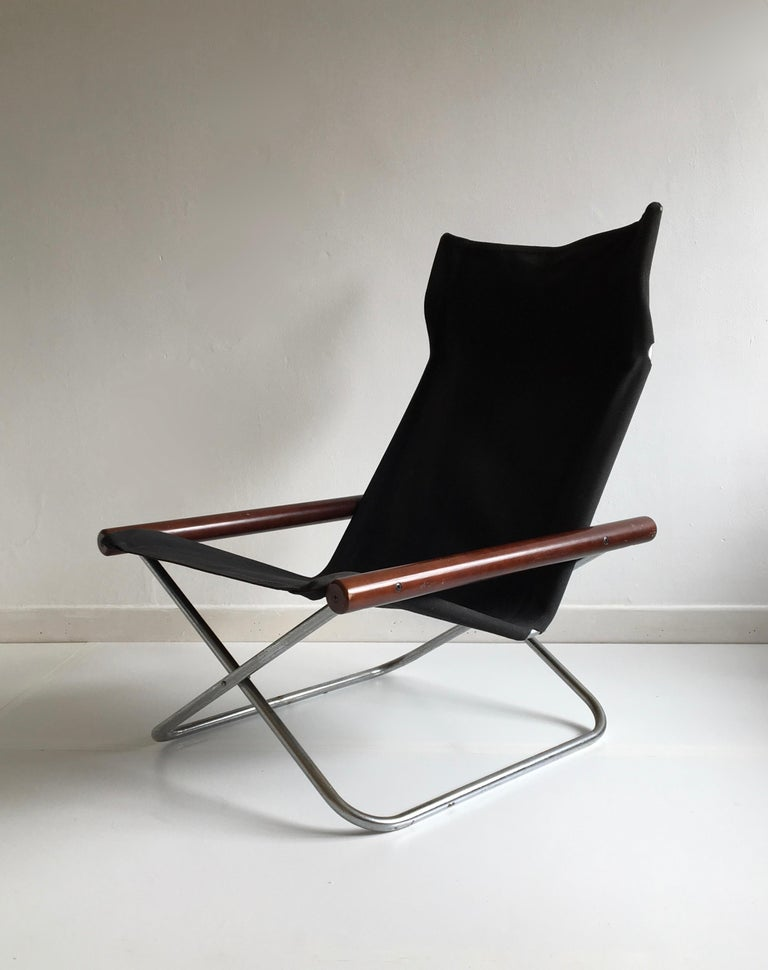 The chair was named 'NY' after the designer's family name, meaning 'new' in Danish. It has won many awards and became a permanent feature in the MOMA collection in 1970.