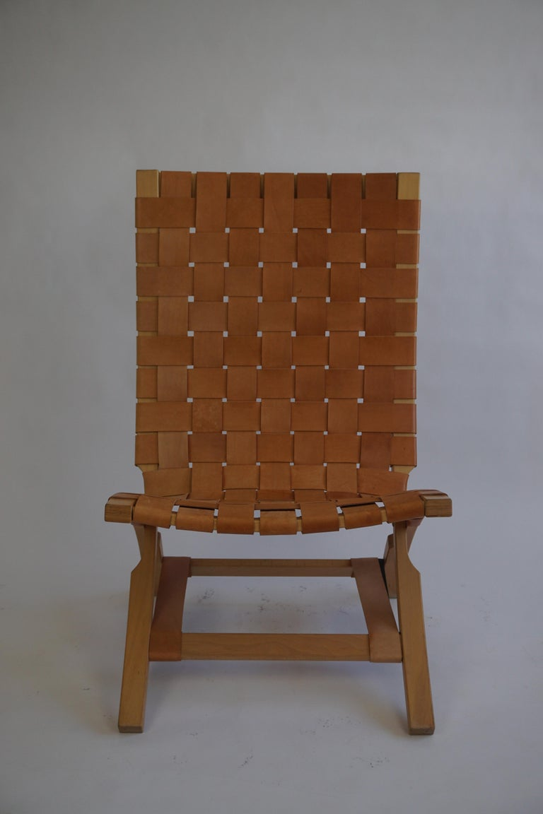 Norwegian Mid Century Folding Chair by Ingmar Relling for Westnova, Norway, 1970s For Sale