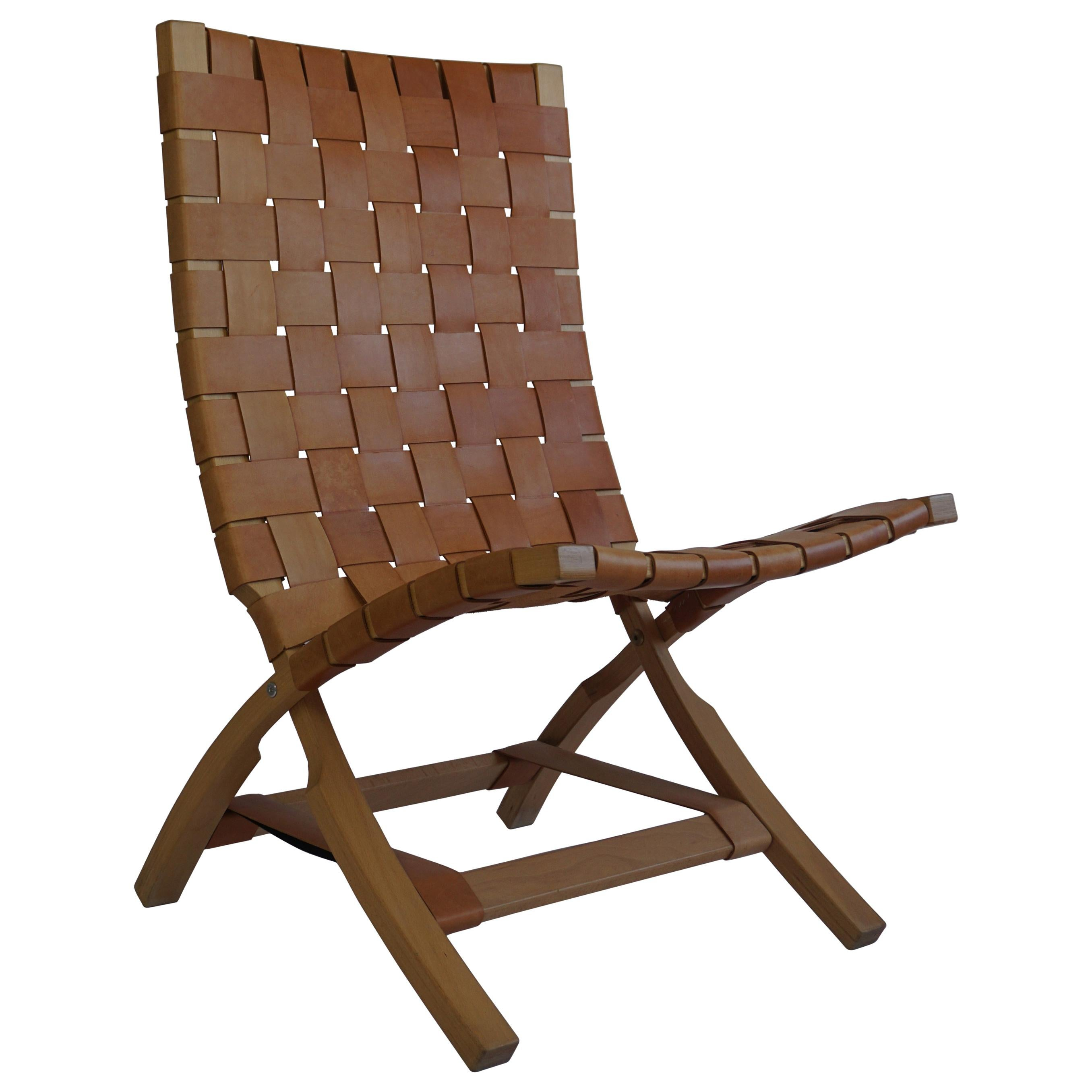 Mid Century Folding Chair by Ingmar Relling for Westnova, Norway, 1970s
