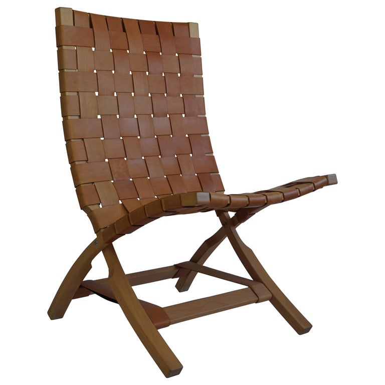 Mid Century Folding Chair by Ingmar Relling for Westnova, Norway, 1970s For Sale