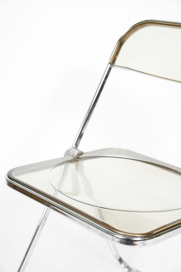 Midcentury Folding Chair Plia By Giancarlo Piretti For