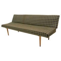 Midcentury Folding Sofa-Bench by Miroslav Navrátil, 1960s, Czechoslovakia