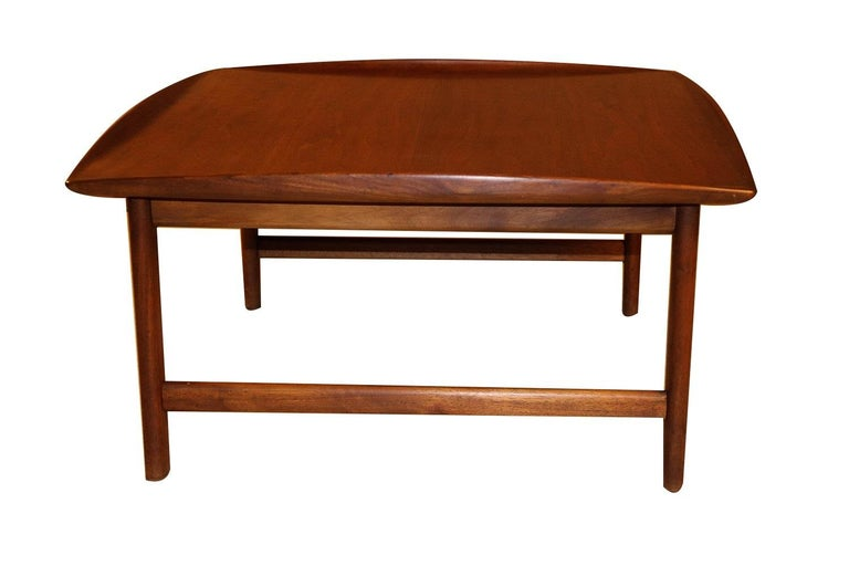 Mid Century Folke Ohlsson Coffee Table for DUX For Sale 3