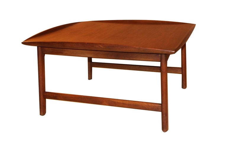 Mid Century Folke Ohlsson Coffee Table for DUX For Sale 2