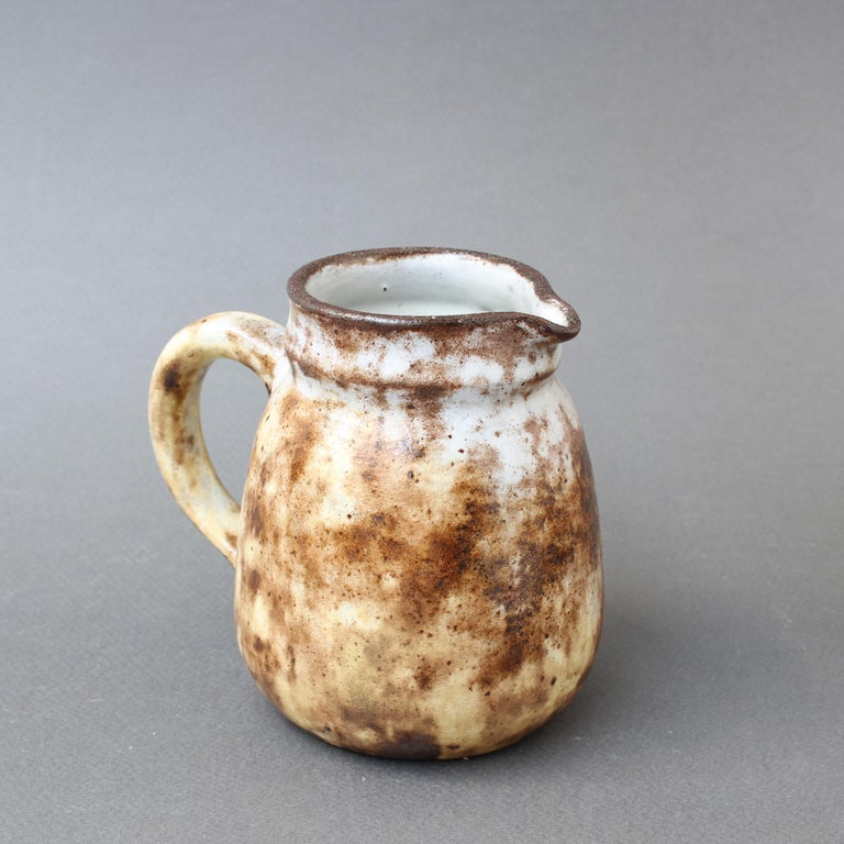 Mid-20th Century Midcentury French Ceramic Jug by Alexandre Kostanda, circa 1960s, Small For Sale