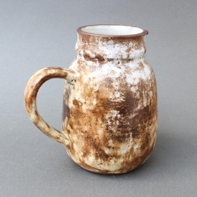 Mid-20th Century Midcentury French Ceramic Jug / Vase by Alexandre Kostanda, circa 1960s For Sale
