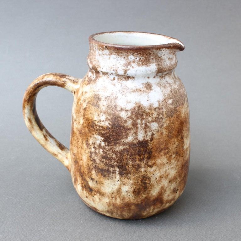 Midcentury French Ceramic Jug / Vase by Alexandre Kostanda, circa 1960s For Sale 1