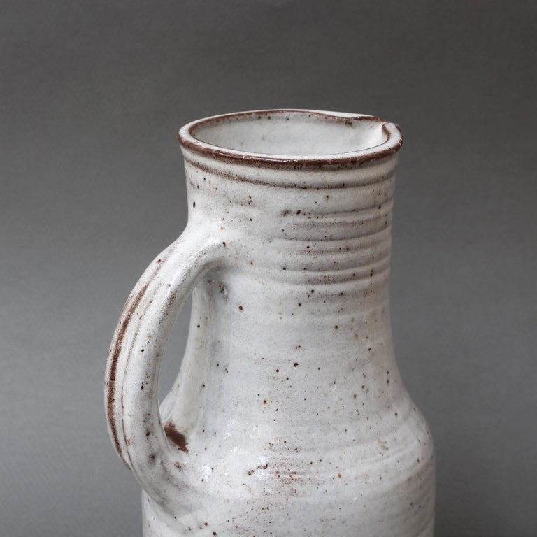 Midcentury French Ceramic Pitcher by Pierlot, circa 1960s For Sale 4