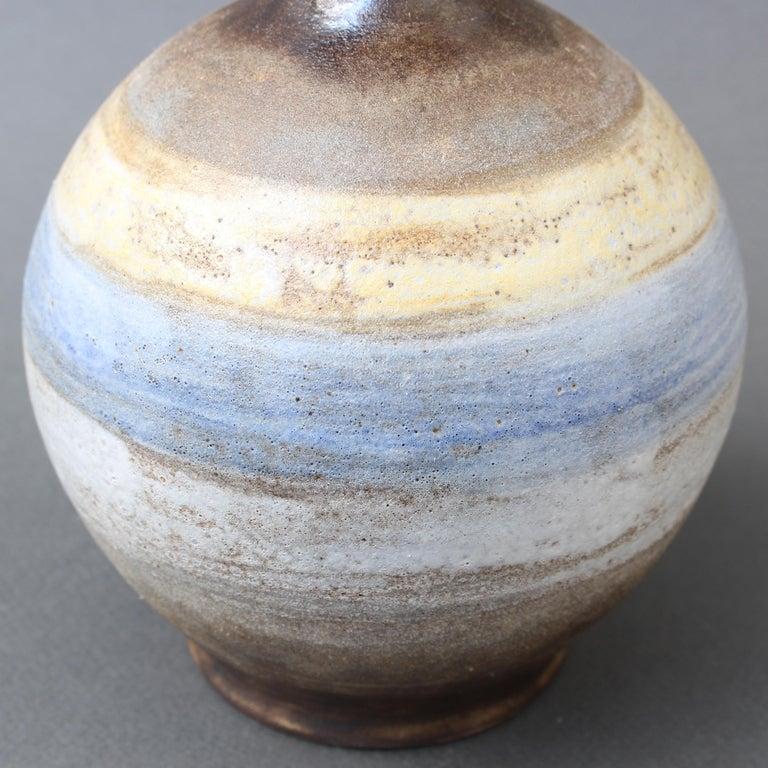 Midcentury French Ceramic Vase by Alexandre Kostanda, circa 1960s For Sale 5