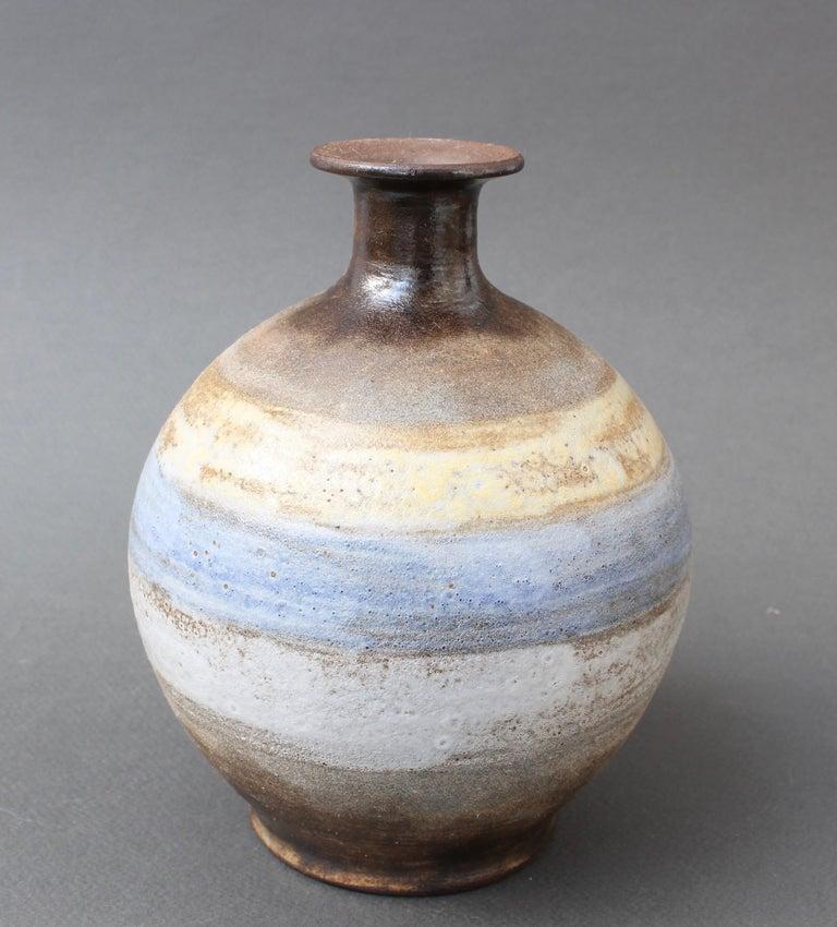 Midcentury French Ceramic Vase by Alexandre Kostanda, circa 1960s For Sale 1