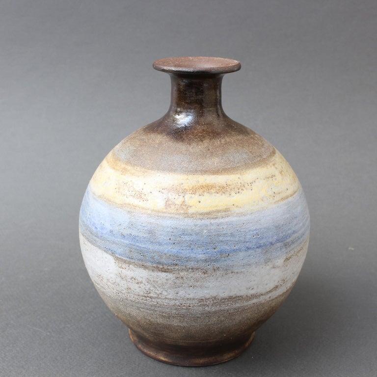 Midcentury French Ceramic Vase by Alexandre Kostanda, circa 1960s For Sale 2