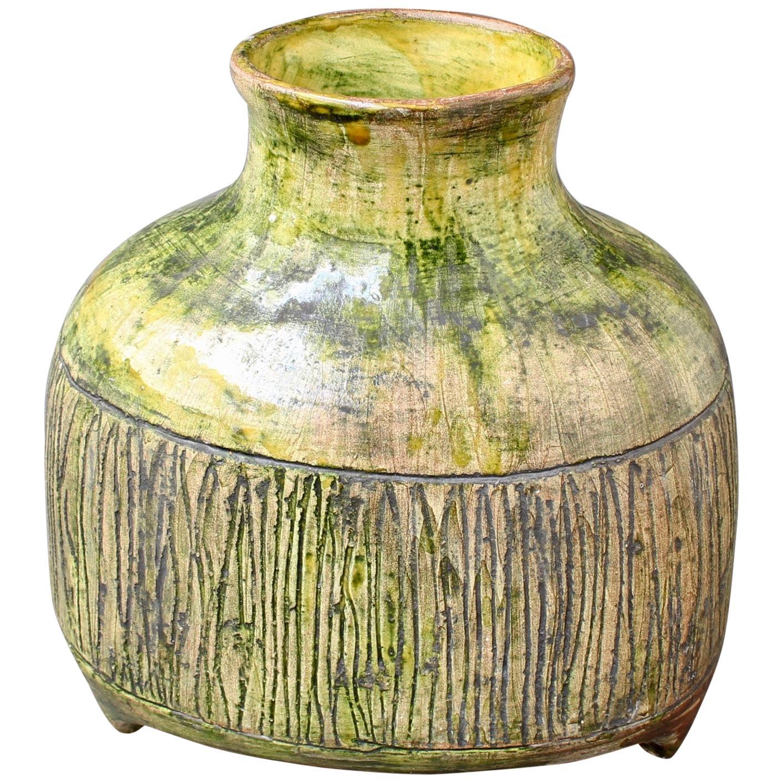 Midcentury French Ceramic Vase 'circa 1960s'