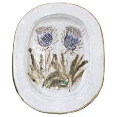 Mid-Century French Decorative Platter by Albert Thiry 'circa 1960s'