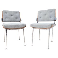 Mid-Century French Desk Chairs by Alain Richard '2'