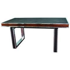 Midcentury French Desk in Walnut