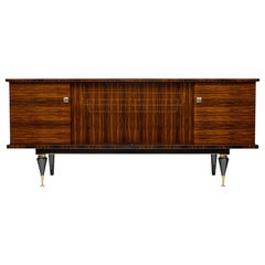 Midcentury French Macassar Buffet