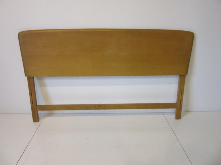 Mid-Century Modern Midcentury Full Sized Headboard, Trophy Suite by Heywood Wakefield For Sale