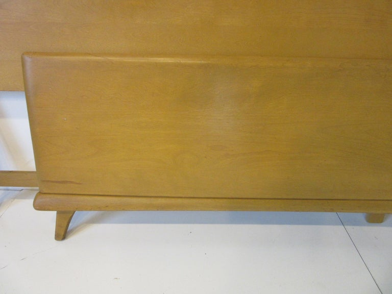 20th Century Midcentury Full Sized Headboard, Trophy Suite by Heywood Wakefield For Sale