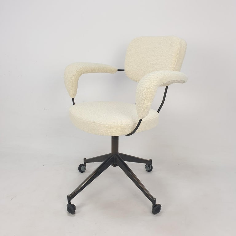 Mid Century Gastone Rinaldi Swivel Armchair for RIMA, 1960's 2