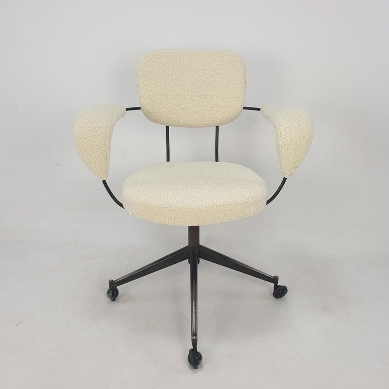 Italian Mid Century Gastone Rinaldi Swivel Armchair for RIMA, 1960's