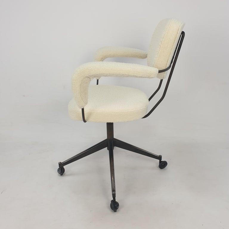 Mid Century Gastone Rinaldi Swivel Armchair for RIMA, 1960's In Good Condition In Oud Beijerland, NL