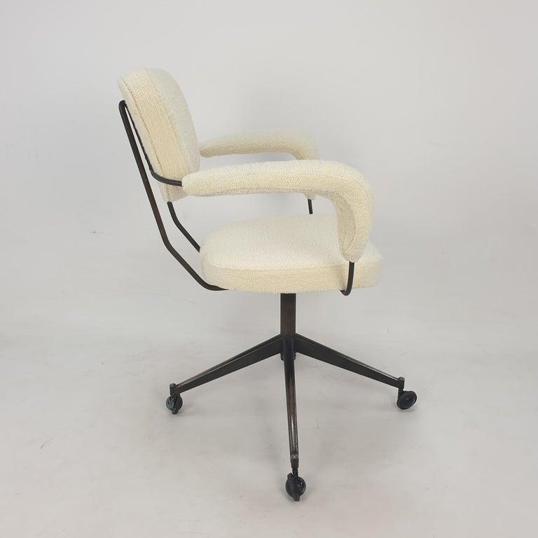 Mid-20th Century Mid Century Gastone Rinaldi Swivel Armchair for RIMA, 1960's