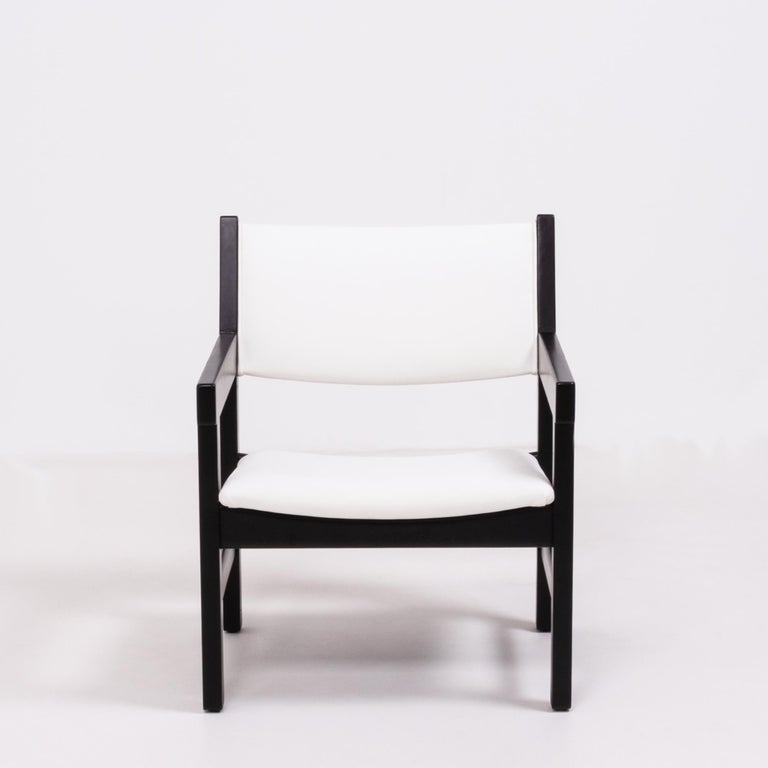Midcentury GE 151 Dining Chairs by Hans J. Wegner for GETAMA, Set of 6 In Good Condition For Sale In London, GB