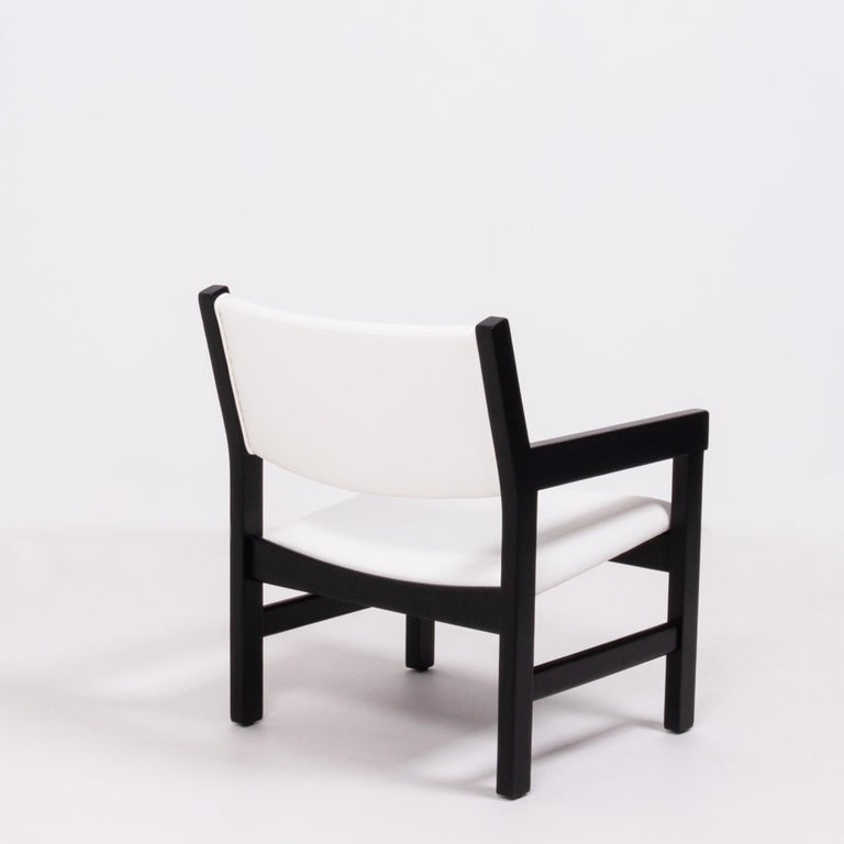 Midcentury GE 151 Dining Chairs by Hans J. Wegner for GETAMA, Set of 6 For Sale 1