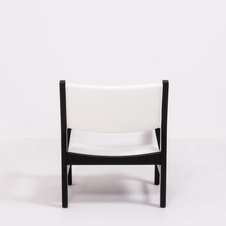 Midcentury GE 151 Dining Chairs by Hans J. Wegner for GETAMA, Set of 6 For Sale 2