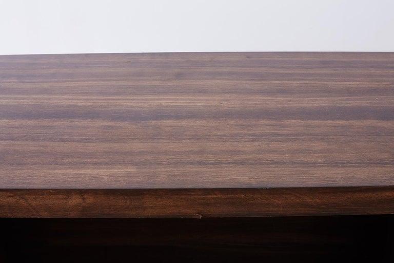 Midcentury Geometric Johnny Carson Style Desk For Sale 11