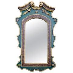 Georgian Style Carved Gilt Wall Mirror