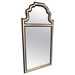 Mid Century Giltwood Moorish Style Mirror, by Labarge, Made in Belgium