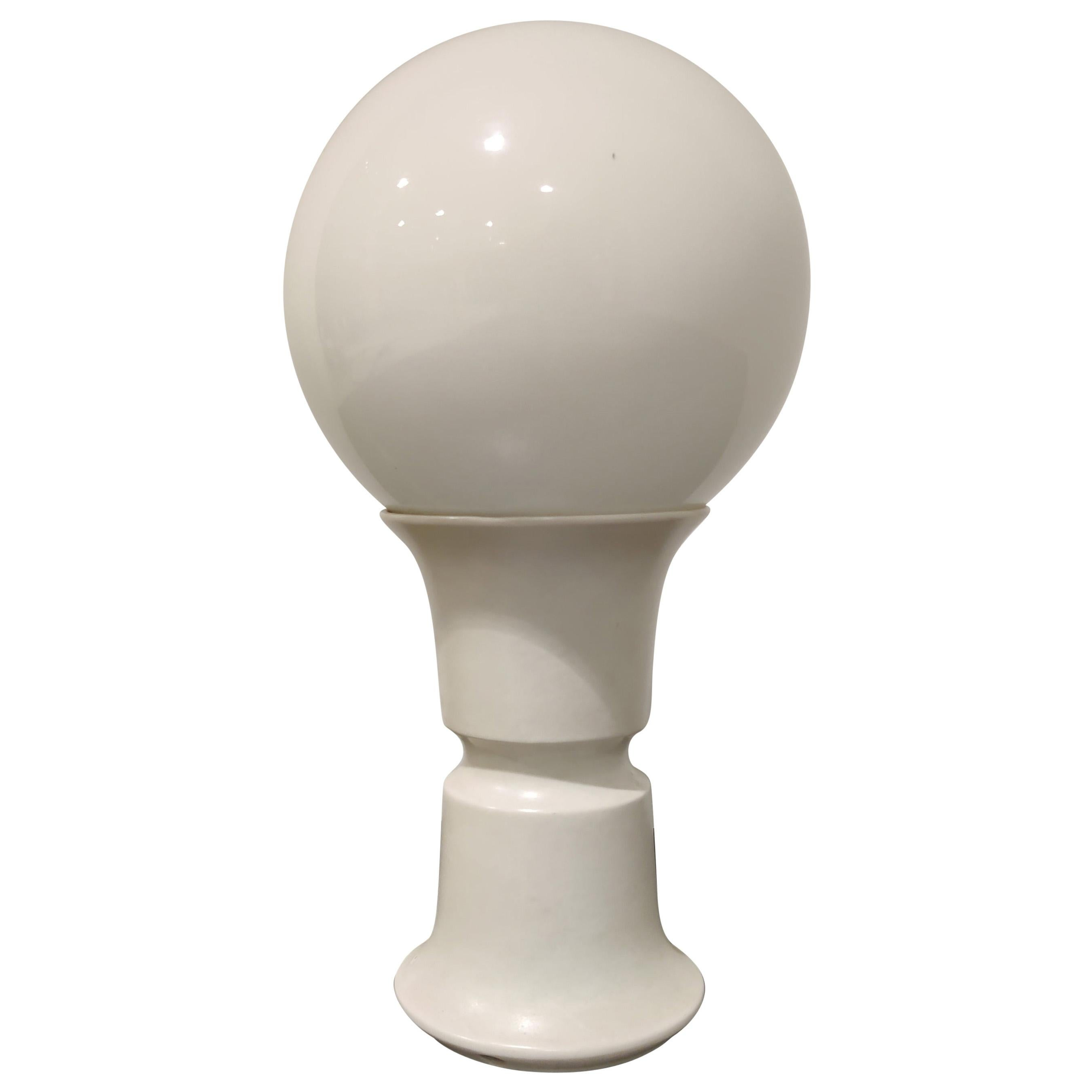 Midcentury Globe Table Lamp, 1970s