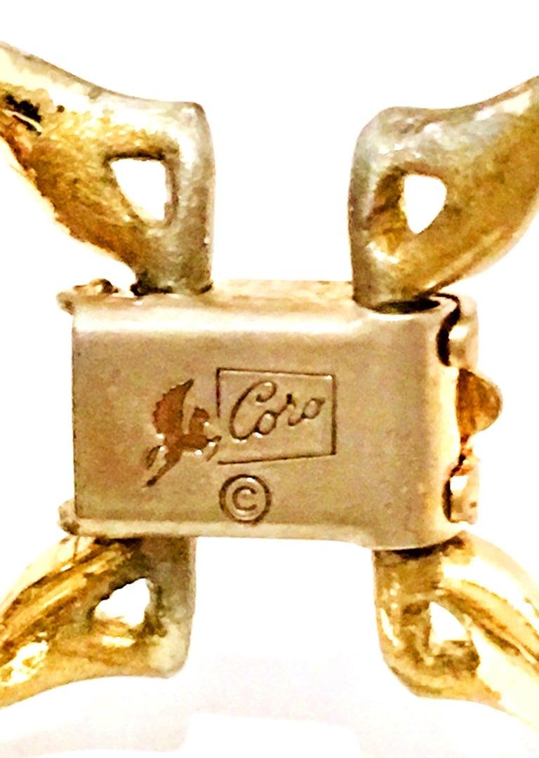 Mid-Century Gold, Lucite Confetti