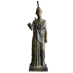 Midcentury Greek Bronze Statue