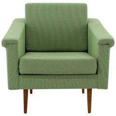 Midcentury Green Armchair, 1960s