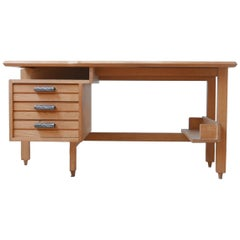 Midcentury Guillerme et Chambron Desk