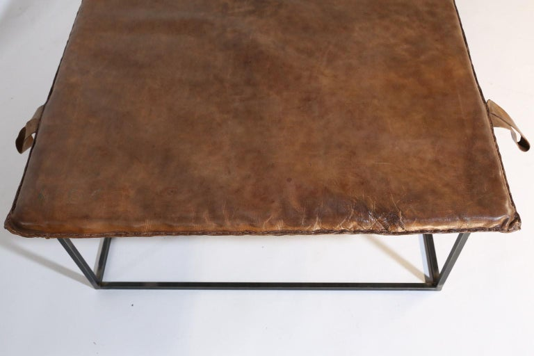 European Midcentury Gymnasium Mat Daybed/Table For Sale