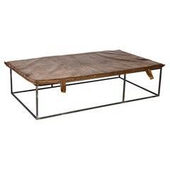 Midcentury Gymnasium Mat Daybed/Table