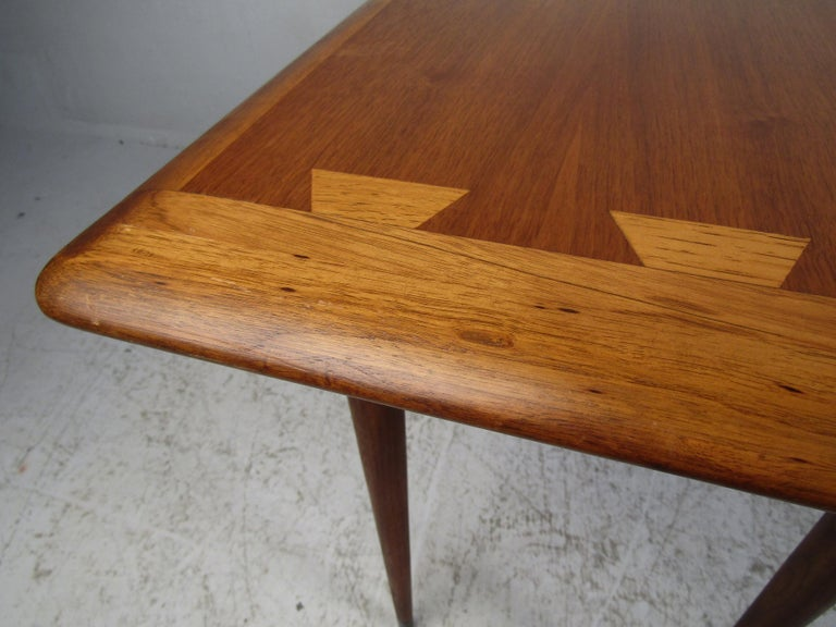 Midcentury Hallway or Console Table by Lane For Sale 3