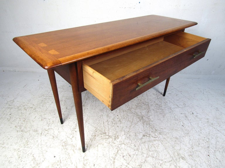 Mid-Century Modern Midcentury Hallway or Console Table by Lane For Sale