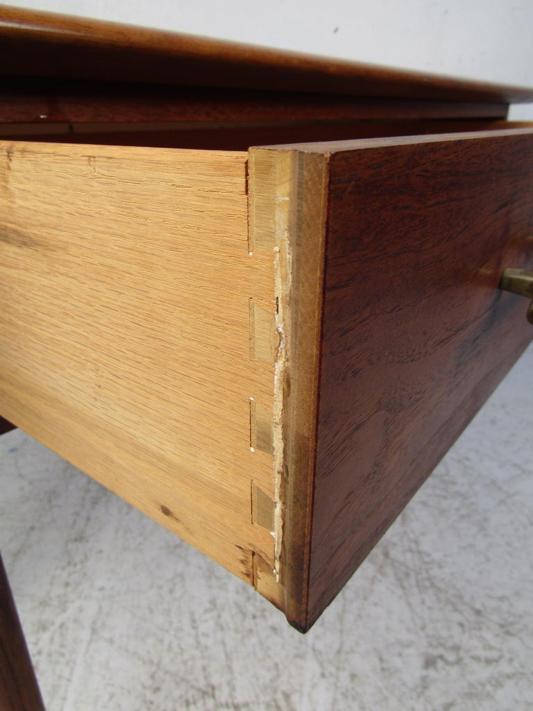 Midcentury Hallway or Console Table by Lane For Sale 1