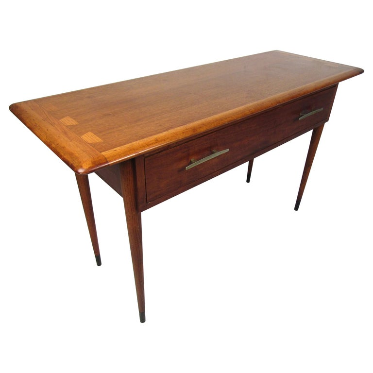 Midcentury Hallway or Console Table by Lane For Sale