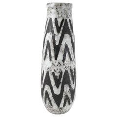 Midcentury Handmade Ceramic Vase, 1970s