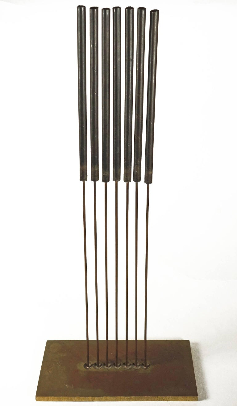 Midcentury Harry Bertoia Sonambient Sculpture In Excellent Condition For Sale In BROOKLYN, NY
