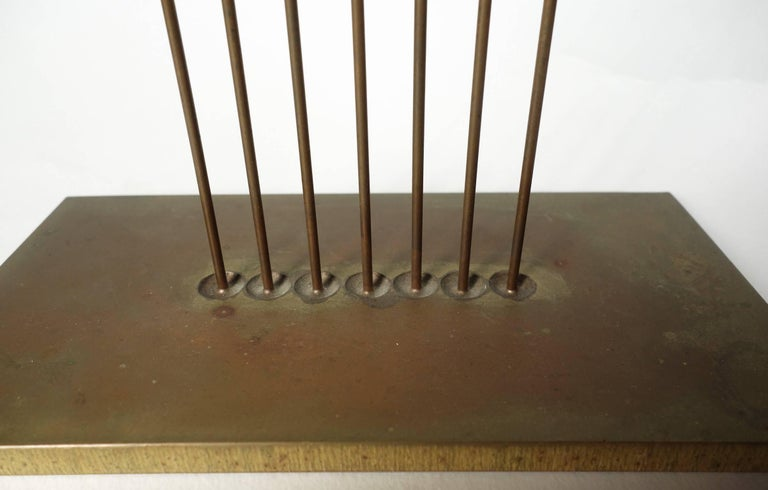 20th Century Midcentury Harry Bertoia Sonambient Sculpture For Sale