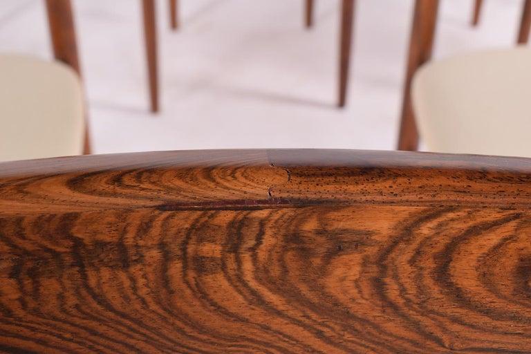 Midcentury Harry Østergaard set of 6 Dining Chairs for Randers Møbelfabrik For Sale 7