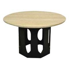 Midcentury Harvey Probber Game / Breakfast Table with Terrazzo Top
